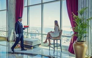 Thumbnail for Experience Dining in the Sky at St. Regis in Abu Dhabi
